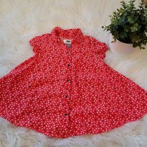 Girls Old Navy Valentines Dress Size 18-24 Months